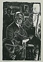 Albert Gold, Earl Horter Teaching, lithograph, Albert Gold, Click for value