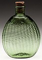 PATTERN-MOLDED PITKIN-TYPE FLASK
