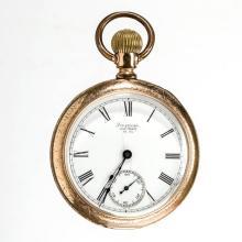WALTHAM 15-JEWEL MAN'S MODEL 1888 POCKET WATCH