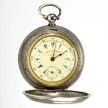 BILLODES SWISS / OTTOMAN TURKISH PRIVATE LABEL POCKET WATCH