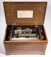 BAKER TROLL SWISS CYLINDER ORCHESTRAL MUSIC BOX