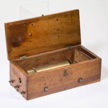 DUCOMMUN GIROD KEYWIND CYLINDER MUSIC BOX
