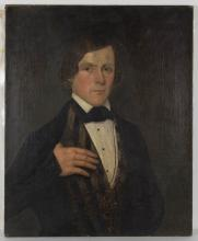 AMERICAN SCHOOL (19TH CENTURY) PORTRAIT OF A MAN
