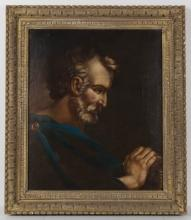 AMERICAN OR EUROPEAN SCHOOL (19TH CENTURY) OLD MASTER STYLE PORTRAIT OF A MAN