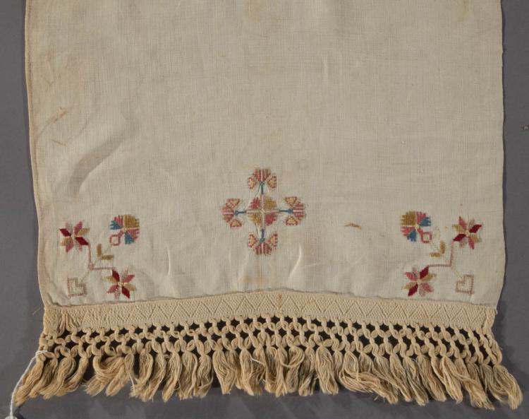 Basket Weaving Lancaster Pa : Pennsylvania dated linen plain weave hand towel show