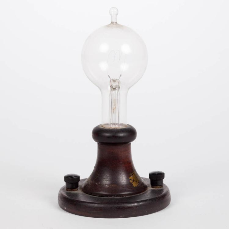 Thomas Edison Commemorative Light Bulb