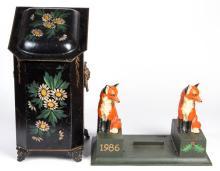 FIGURAL CAST-IRON FOX HUNTING BOOT SCRAPE
