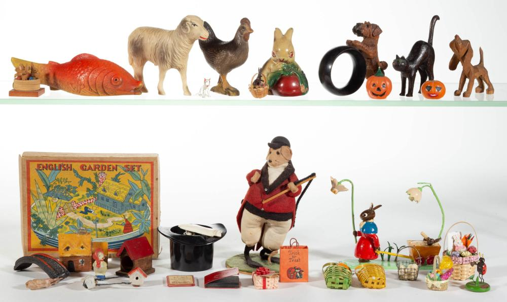ASSORTED FIGURES AND MINIATURES, UNCOUNTED LOT