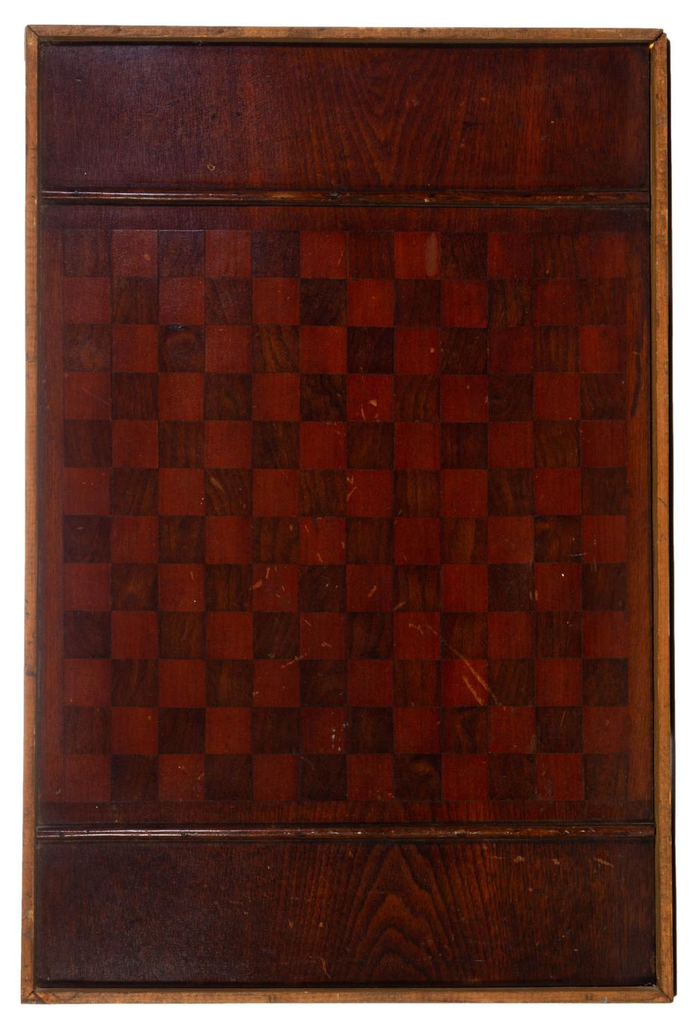 COUNTRY FOLK ART PINE GAMEBOARD