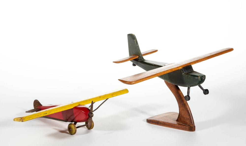 FOLK ART CARVED AND PAINTED PLANES