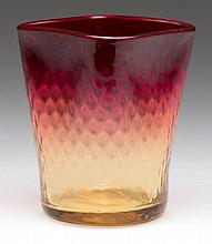 AMBERINA VENETIAN DIAMOND TOOTHPICK HOLDER