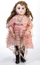 MAY FRERES FRENCH BISQUE-HEAD DOLL