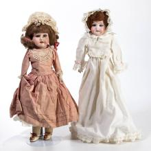 ARMAND MARSEILLE GERMAN BISQUE-HEAD DOLLS, LOT OF TWO