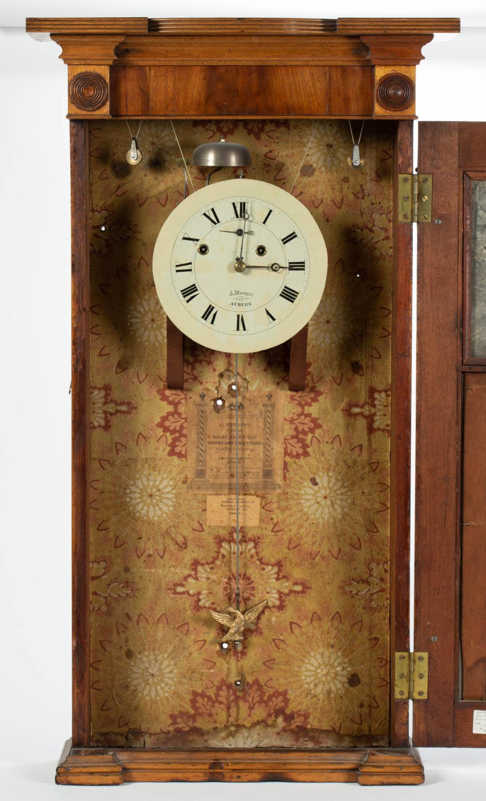 Nice! Eagle Clock Pendulum Bob Asa Munger