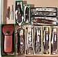 REMINGTON POCKET KNIVES, LOT OF TEN