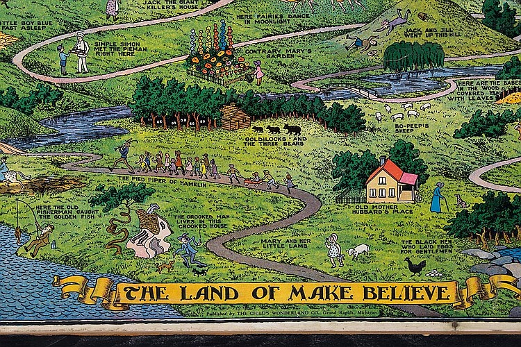 Sold Price Jaro Hess The Land Of Make Believe Poster February 6 0114 9 30 Am Est