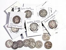 UNITED STATES SILVER 25-CENT COINS, LOT OF 25