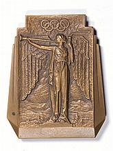 1932 WINTER OLYMPICS BRONZE MEDAL