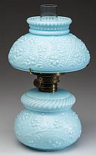 EMBOSSED FLORAL PATTERN MINIATURE LAMP