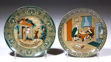 BUFFALO POTTERY DELDARE EMERALD DR. SYNTAX ARTICLES, LOT OF TWO