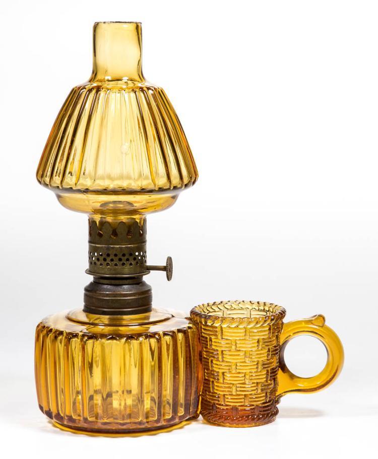 MATCH HOLDER FIGURAL MINIATURE FINGER LAMP