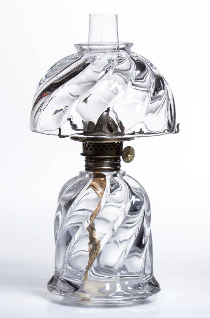 NARROW SWIRL MINIATURE LAMP