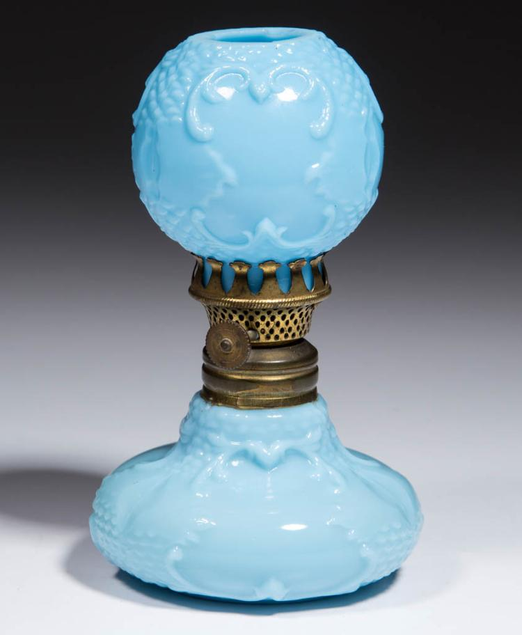SCROLL EMBOSSED MINIATURE LAMP
