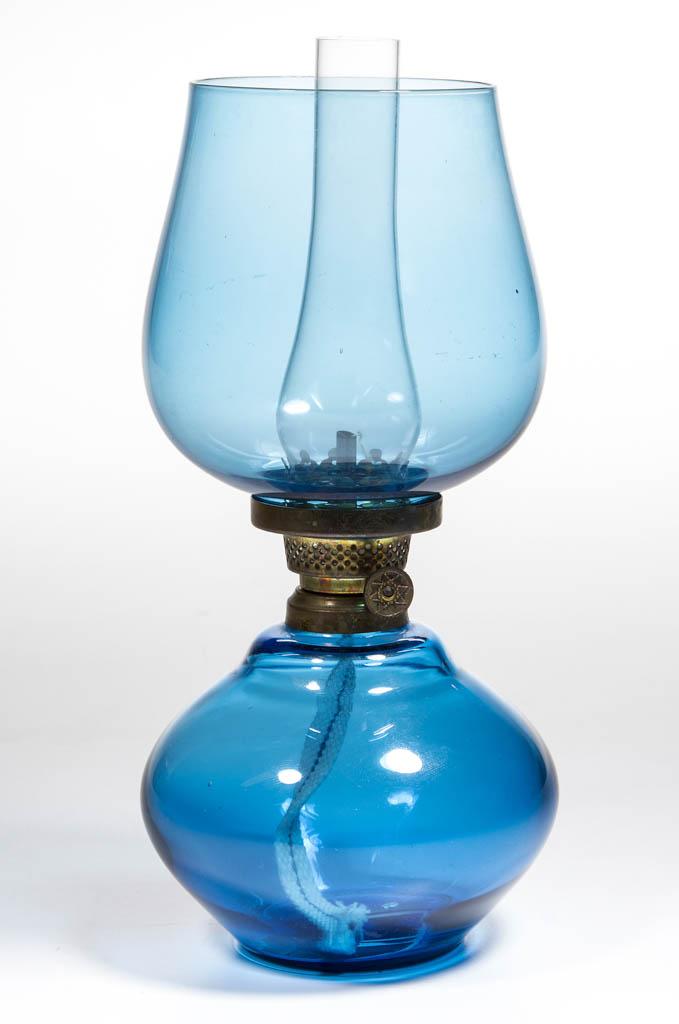 UNPATTERNED COLORED GLASS MINIATURE LAMP