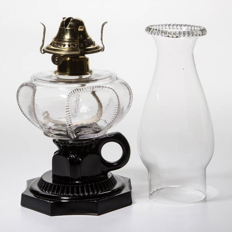 DALZELL'S CROWN KEROSENE FINGER LAMP
