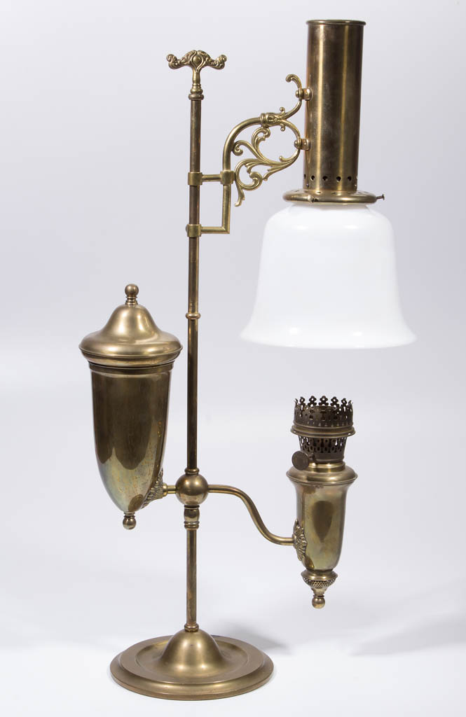 ALADDIN MODEL 4 NO. 110 KEROSENE STUDENT LAMP