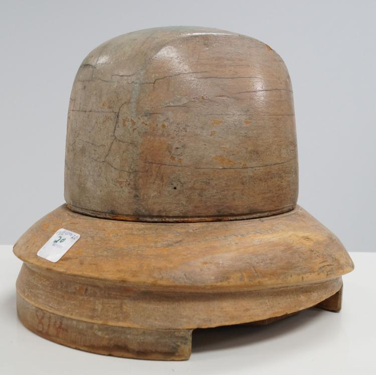Luxury Wood Turning A Wood Cowboy Hat Is Conversational
