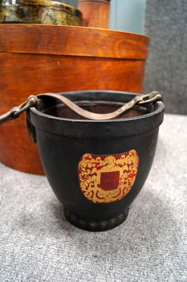 Decorative Hat Boxes Uk : Box lot vintage boxes and decorative items including firkin