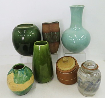 LOT ASSORTED ART POTTERY