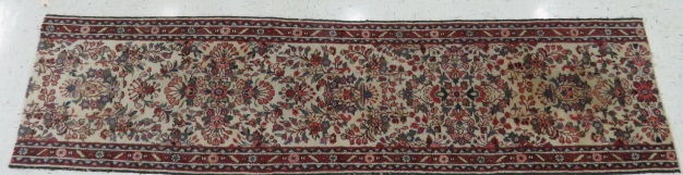 SEMI-ANTIQUE HAMADAN RUNNER. 2'8 X 10'10