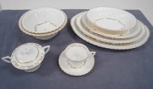 SERVICE FOR (12)+ EXTRAS, SYRACUSE CHINA,