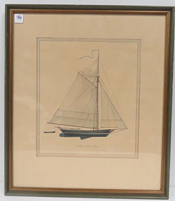 AMERICAN SCHOOL (20TH CENTURY), OFFSET LITHOGRAPH,