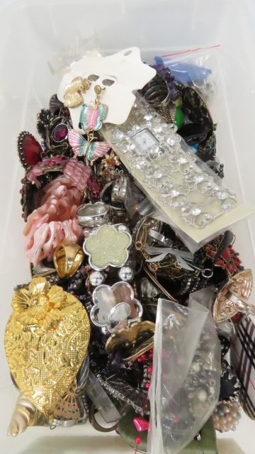 LARGE LOT COSTUME AND DESIGNER FASHION JEWELRY
