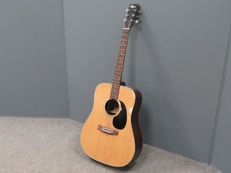elger model 627r acoustic guitar with case. Black Bedroom Furniture Sets. Home Design Ideas