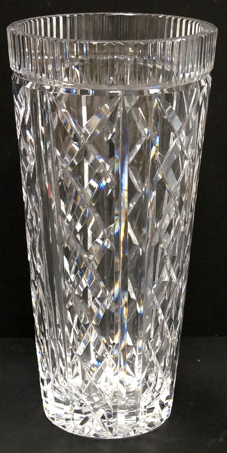 Waterford Crystal Vase Signed Height 12 Quot