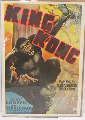 king kong lithographic movie poster portal publications 29
