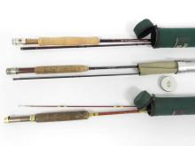LOT (3) ASSORTED GRAPHITE FLY RODS INCLUDING 9' PACBOY; 8'6