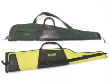 LOT (2) GUN CASES INCLUDING PADDED ORVIS AND HEAVY DUTY KOLPIN