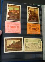 LOT (3) ALBUMS APPROXIMATELY (252) ASSORTED FOREIGN CURRENCY