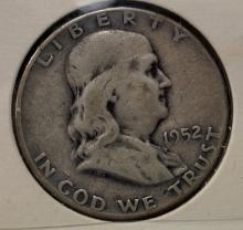 LOT (69) ASSORTED FRANKLIN HALF DOLLAR COINS