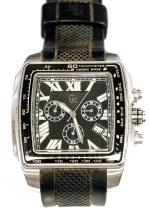 GUESS COLLECTION STAINLESS DIVERS CHRONOGRAPH, GC 30007GA WITH RUBBER BAND. 44 X 41MM