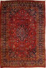 PERSIAN MASHAD RUG. 6'5