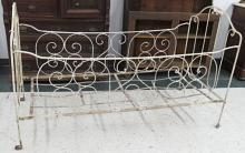 VICTORIAN WROUGHT IRON YOUTH'S BED