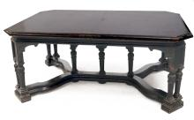 RENAISSANCE REVIVAL DINING TABLE WITH (4) 12