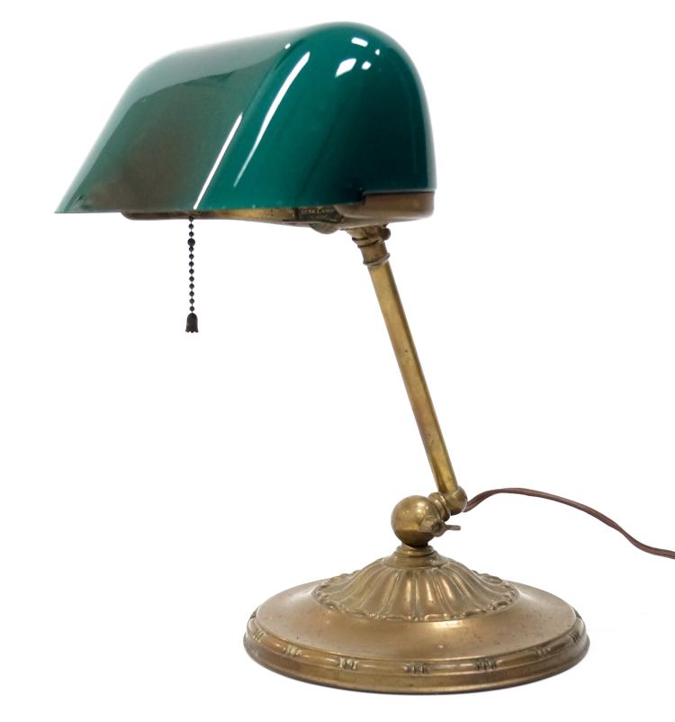 EMERALITE DESK LAMP, #8734. HEIGHT 13