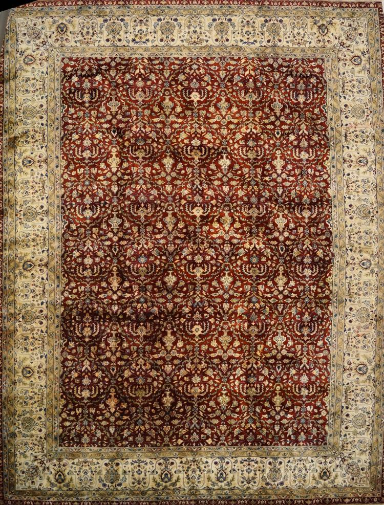 INDO-MAHAL CARPET. 10' X 14'2